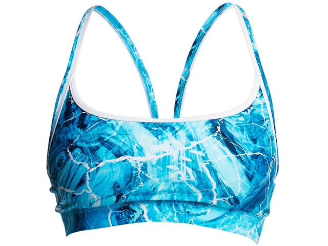Funkita Sports Top - Bañadores Mujer - azul/Turquesa